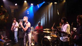 On Your Way Down - Trombone Shorty - Paris, 29.09.2011