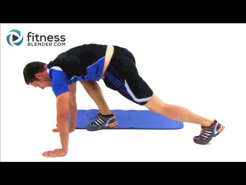 15 Minute Total Body Boot Camp - Fitness Blender HIIT Workout Mp3