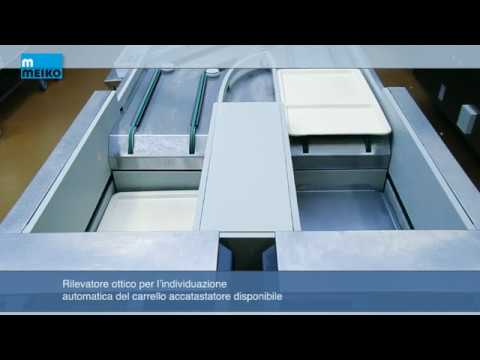 Sistema di smistamento e accastatamento automatico