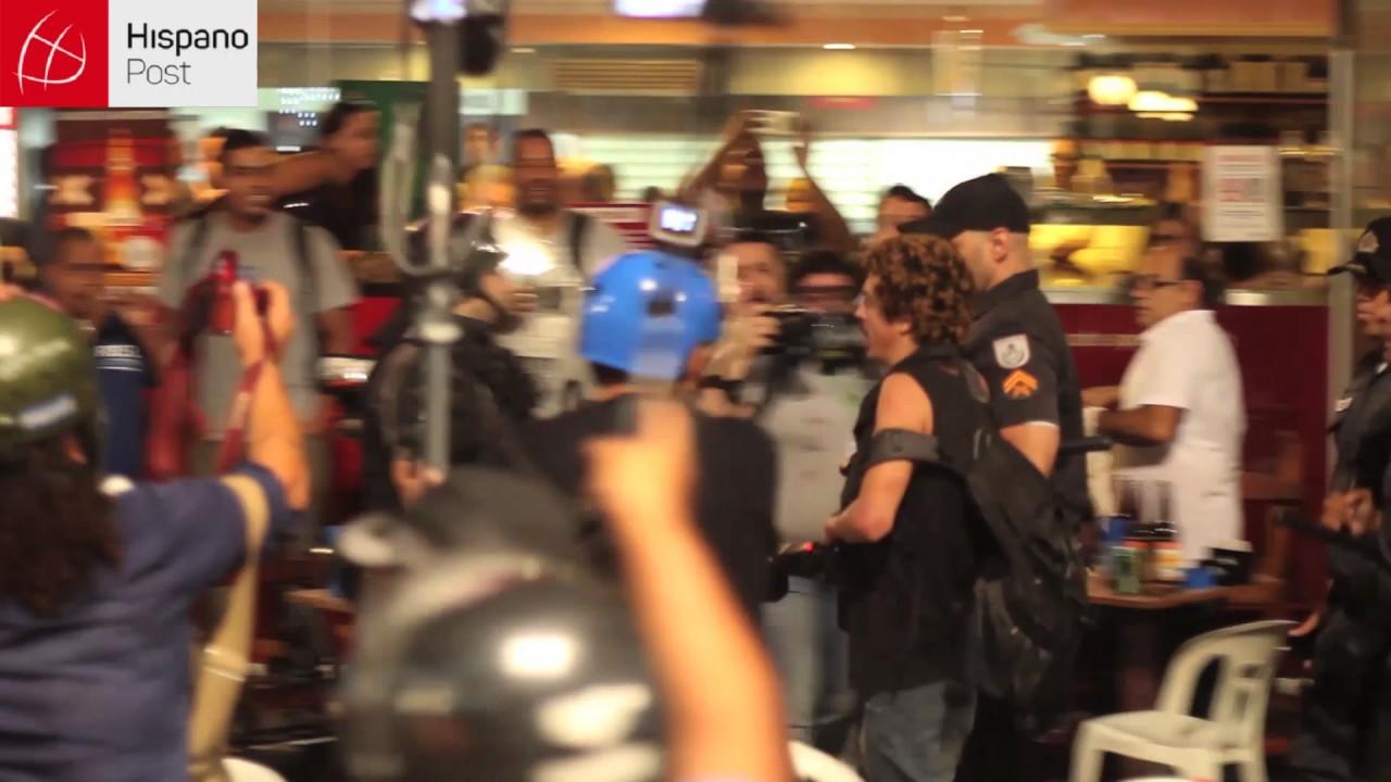 Batalla campal en Río de Janeiro contra las medidas anticrisis de Temer