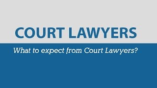 Court Lawyers in Australia | Go To Court Lawyers