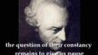 Pity, that immanuel kant was a real piss ant opinion