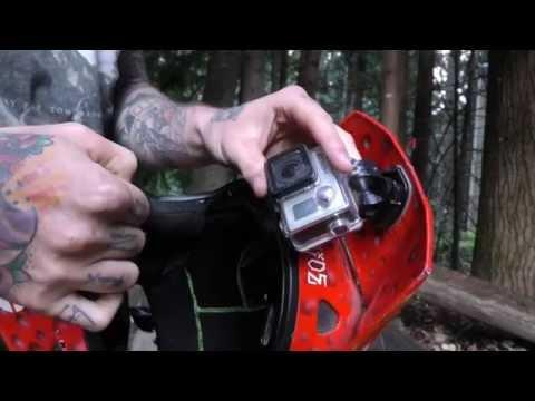 Best GoPro mount position - fullface helmet MTB dirt jump freeride POV