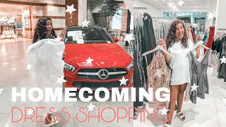 8th Grade HOMECOMING DRESS SHOPPING 2019 | She Said Yes To The Dress.....