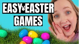 3 EASY FUN Easter Party Games For Kids