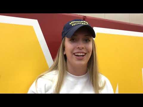 Watch Jess Mruzik get surprised with 2019 Miss Volleyball award