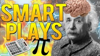 CS:GO -  SMARTEST PLAYS DONE BY PRO PLAYERS!