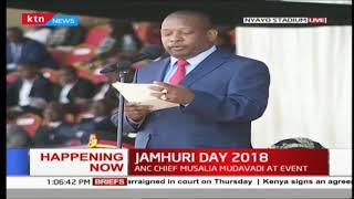 Governor Mike Sonko's speech during the Jamhuri Day celebrations