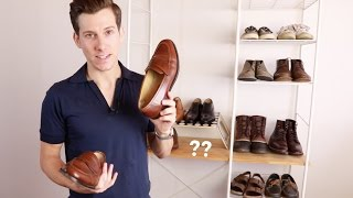 My Shoe Collection For 2016 | Minimalist Mens Shoe Collection