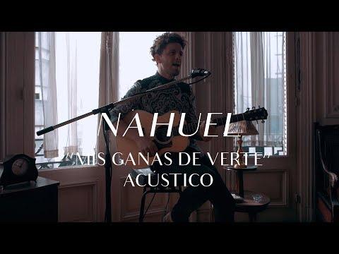 Nahuel video Mis ganas de verte - CMTV Acústico 2017