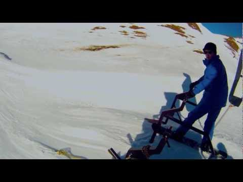 GoPro HD Helmet Camera Snowboard Cross Tignes 2012