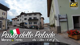 Driving the Passo delle Palade in Italy 🇮🇹 from Merano to Trento