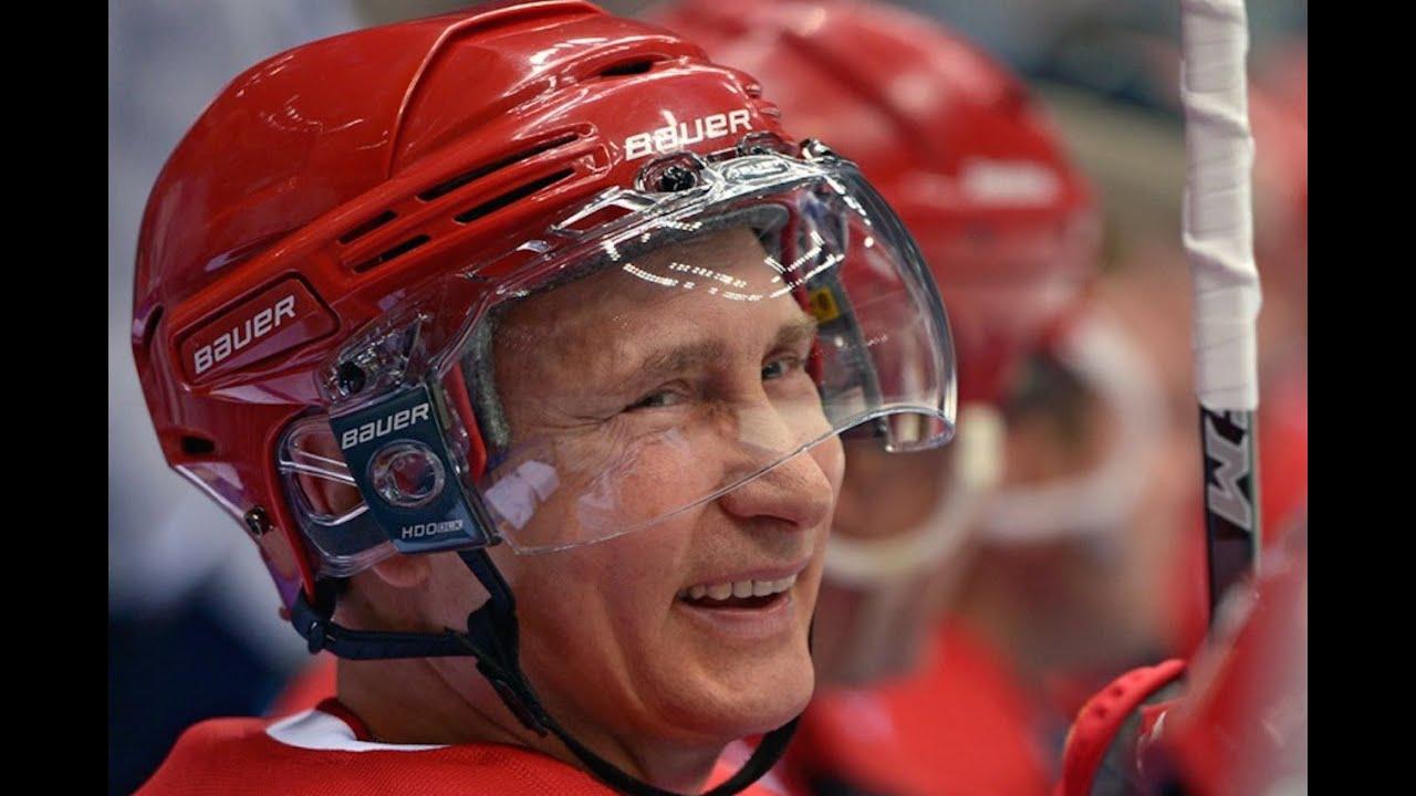 "Putin ""Scores"" Seven Goals Against Pro Hockey Stars thumbnail"