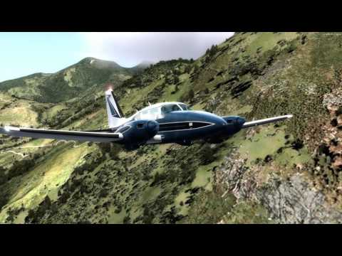 First flight Piper Aztec