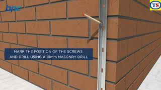 How To Connect a New Wall to and Existing Wall | Toolstation