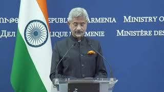 ՀՀ ԱԳ նախարար Արարատ Միրզոյանի խոսքը և պատասխանները լրագրողների հարցերին Հնդկաստանի ԱԳ նախարար Սուբրամանյամ Ջայշանկարի հետ համատեղ մամուլի ասուլիսին