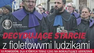 Sądy - decydujące starcie z fioletowymi ludzikami