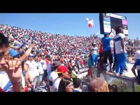 """Catolica vs Madres porque Somos Distintos"" Barra: Los Cruzados • Club: Universidad Católica"