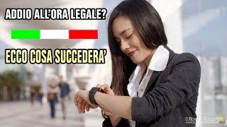 Addio All'ora Legale Anche In Italia? Scoprilo Partecipa Al Sondaggio