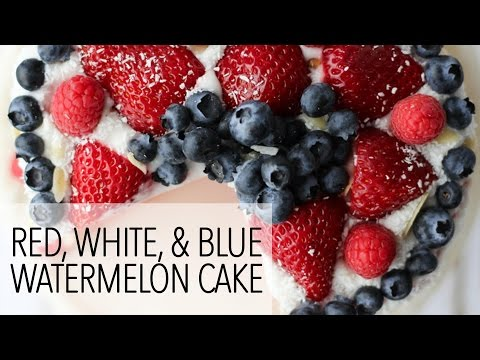 4th of July Vegan Dessert Recipes – Watermelon Cake and Berry Coconut Parfaits