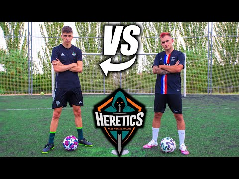 HERETICS LLOBETI4 VS DELANTERO09 - Retos de Fútbol Épicos HD Mp4 3GP Video and MP3