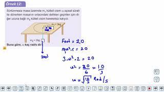 Eğitim Vadisi AYT Fizik 9.Föy Çembersel Hareket 2 (Merkezcik Kuvvet) Konu Anlatım Videoları