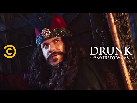 The Real Dracula feat. Seth Rogen - Drunk History