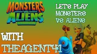 Let's Play Monsters vs Aliens Episode 8: Giant Avenging Robo-Jesus