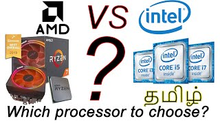 AMD Vs Intel in தமிழ்|which processor is best??| The most powerful processor?