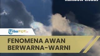 Viral Video Fenomena Unik Awan Warna-warni di Langit Kota Denpasar, BMKG Beri Penjelasan