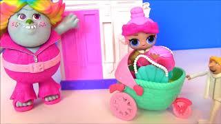 Куклы Лол #Дрю усыновляет Лол! Сюрпризы ЛОЛ #Видео для девочек! Мультик с Лол