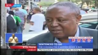 Sentenced to die: Three men sentenced to death in Nairobi