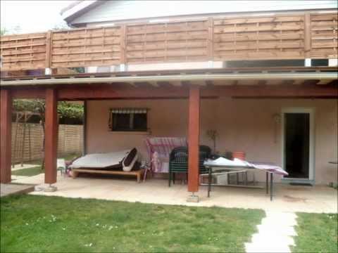 construction terrasse surelevée avec pose  d une terrasse en bois ip