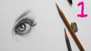 Смотреть онлайн Обучение рисования портрета карандашом поэтапно