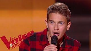 Calogero - Je joue de la musique | Jules | The Voice Kids France 2018 | Blind Audition