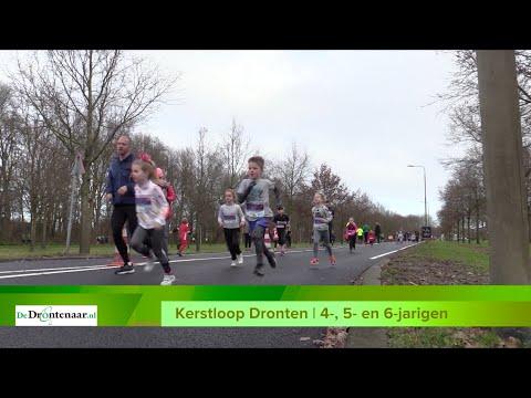 VIDEO   Moedige 4-, 5- en 6-jarige hardlopers volbrengen hun kilometer bij de Kerstloop