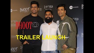 OFFICIAL TRAILER LAUNCH OF #BHOOT Karan Johar BHOOT EXPERIENCE
