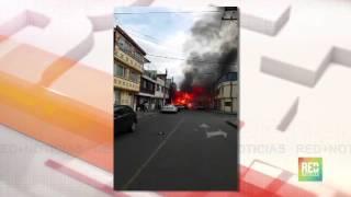 Dramaticas imágenes se vivieron en el Noroccidente de Bogotá