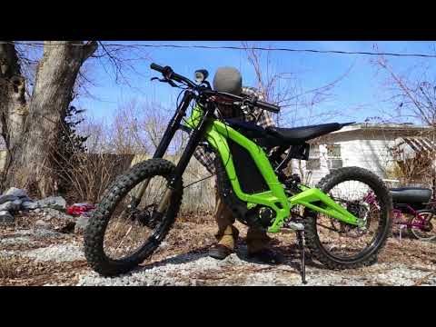 Sur Ron electric motorcycle Professional Review 2