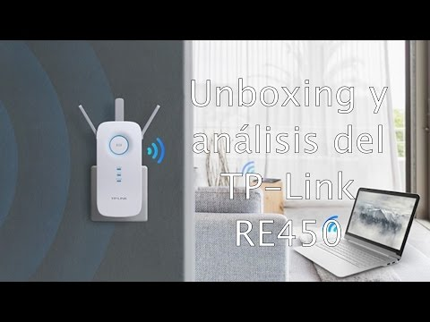 Amplia la señal de tu Wifi con TP Link RE450