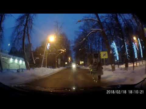 Нападение агрессивных пешеходов в поселке Архангельское