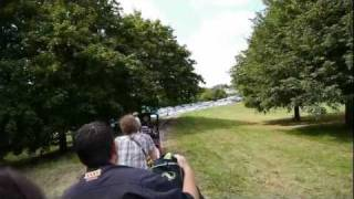 preview picture of video 'Miniature Train Railway at Swanley Park (New Barn Park) Aug 2011 - Filmed using Hacked GH2 65mbps'