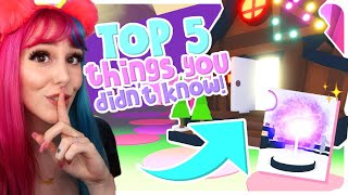 Top 5 Things You Didn't Know About In Adopt Me! Adopt Me Roblox Secrets