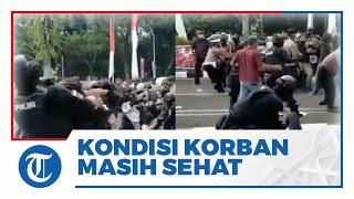 Tanggapi Video Viral Polisi Banting Mahasiswa saat Demo, Kapolres Tangerang: Kondisinya Masih Sehat