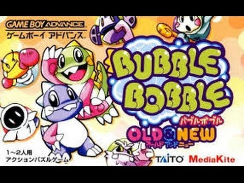 bubble bobble - old and new gameboy advance rom