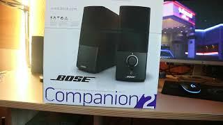 Sind das die wirklich besten PC-Lautsprecher ? - Bose Companion 2 series 3