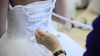 Как зашнуровать корсет на платье свадебном