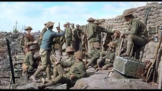 Солдаты с немых пленок Первой мировой заговорили