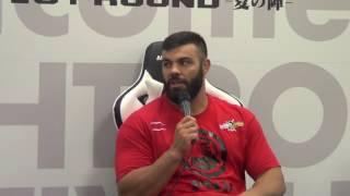 Rizin Iranian Amir Aliakbari talks his KO Striking MMA skills Tyler King AKA Thailand Iran