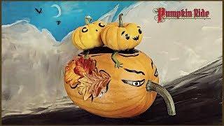 Halloween Decorating - Pumpkin Ride - Vintage Inspired No Carve Pumpkin Idea - Painted Pumpkins